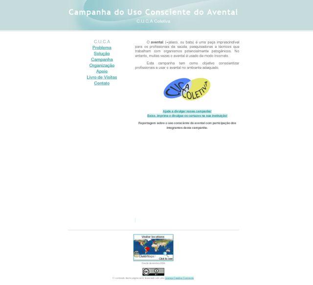 Campanha do Uso Consciente do Avental - Campanha do Uso Consciente do Avental_1249644743658