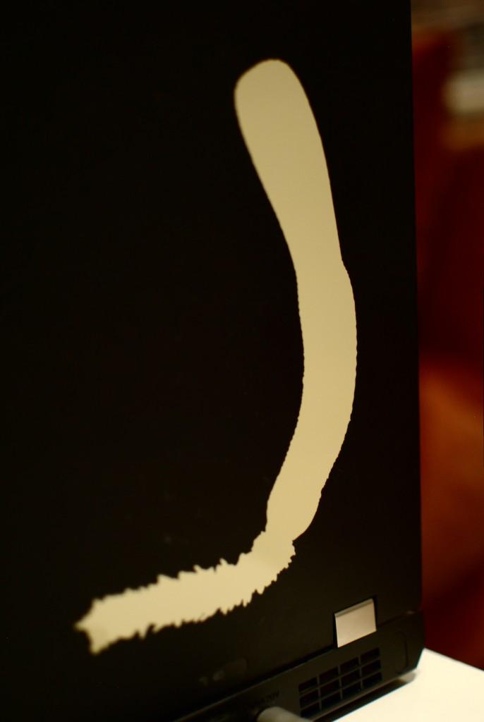 Adesivo do verme-pênis (priapúlido)
