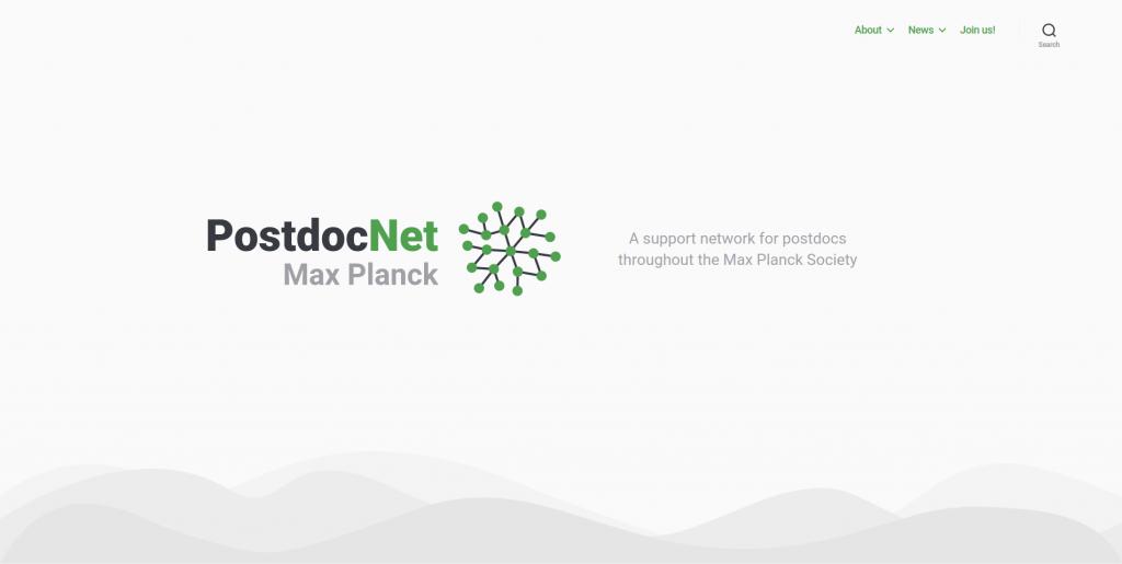 PostdocNet website
